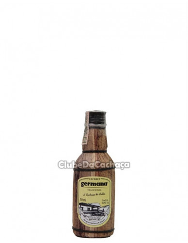Cachaça Germana Palha 50 ml