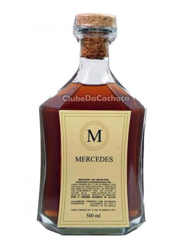 Cachaça Mercedes Ouro 500 ml