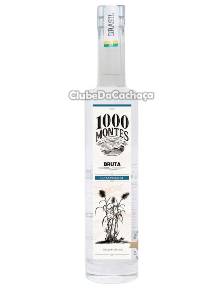 Cachaça 1000 Montes Bruta 500 ml