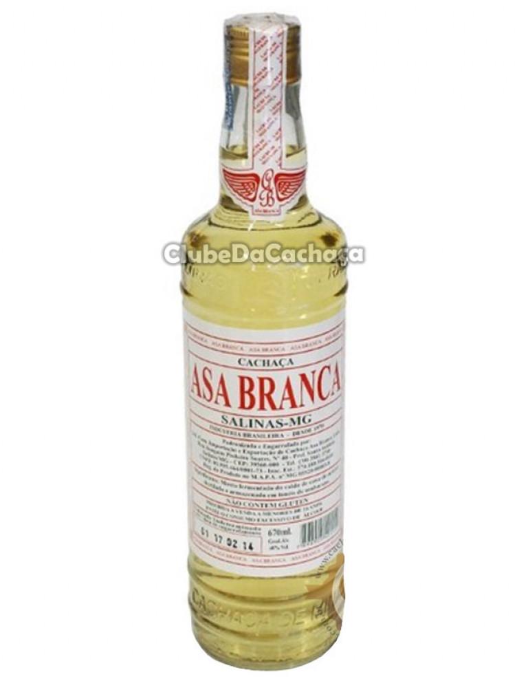 Cachaça Asa Branca Amburana 670 ml