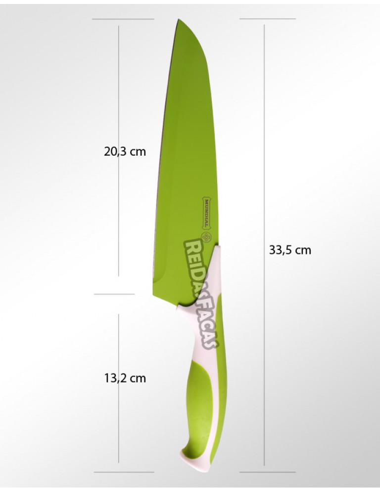 """FACA CARNE 8"""" 20,3 cm MUNDIAL VERDE 7710-8"""