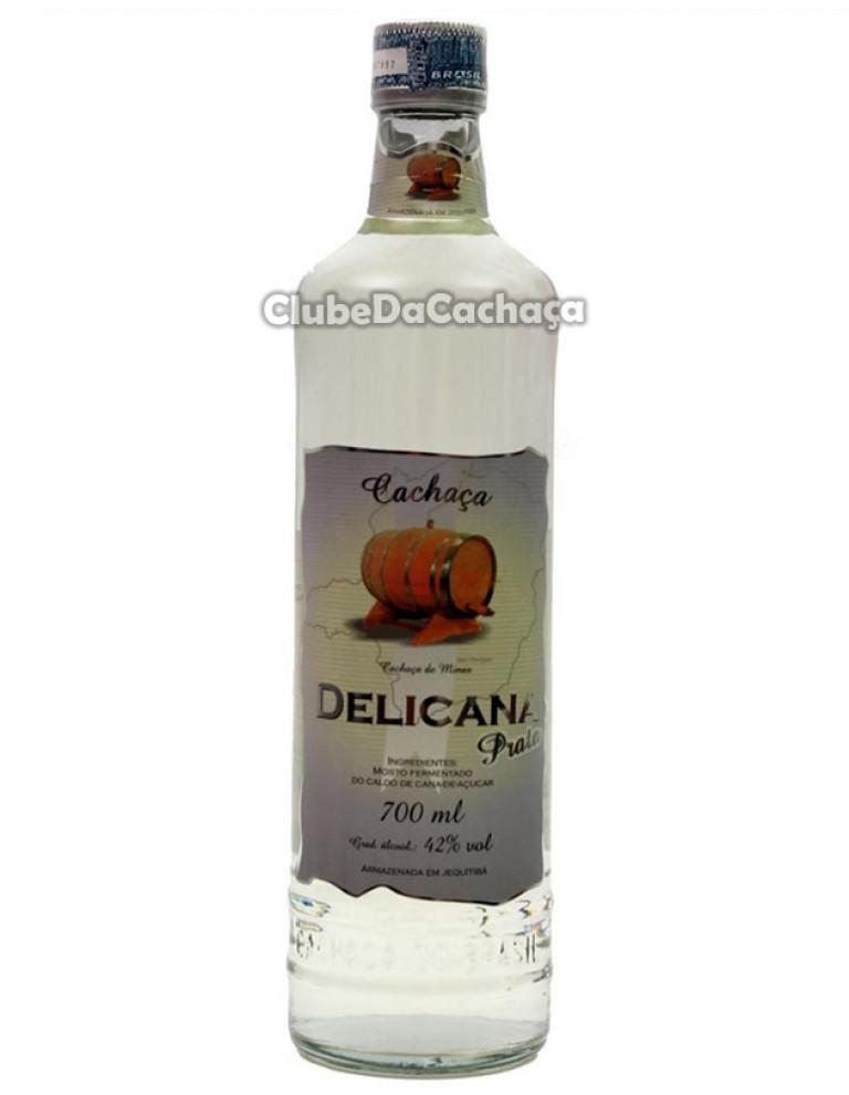 Cachaça Delicana Prata 700 ml