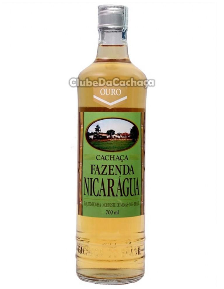 Cachaça Fazenda Nicarágua Ouro 700 ml