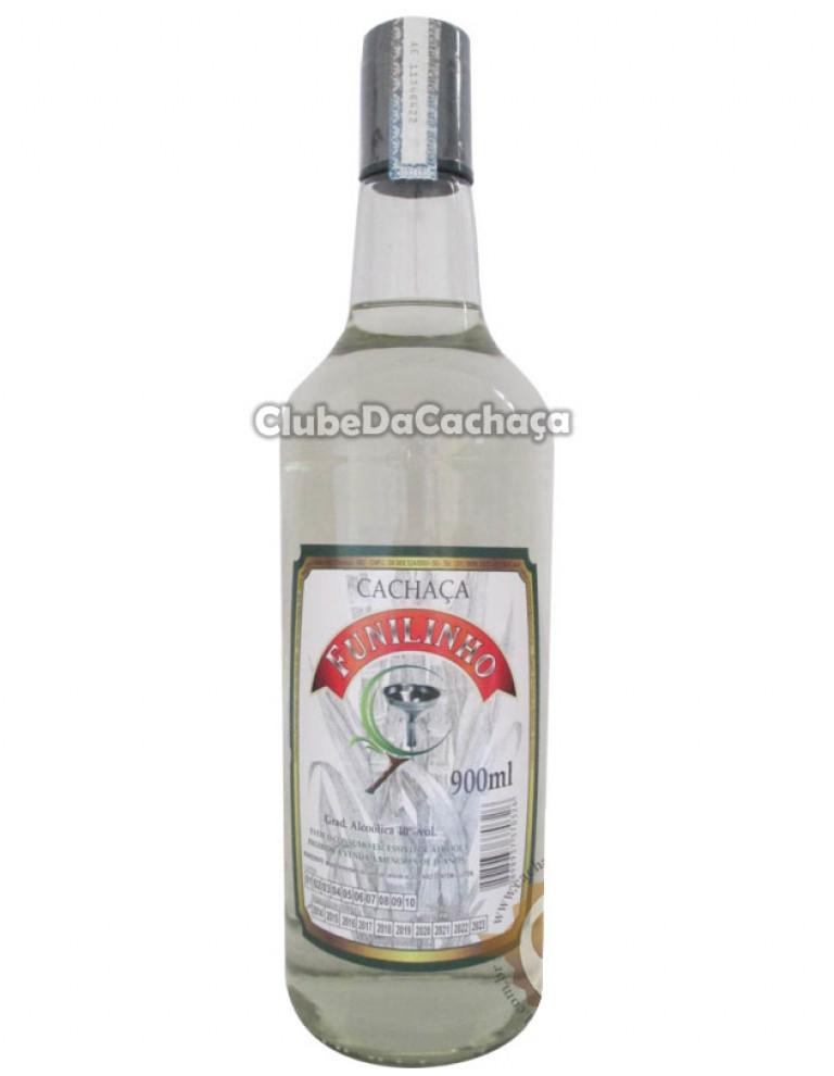 Cachaça Funilinho Prata 900 ml