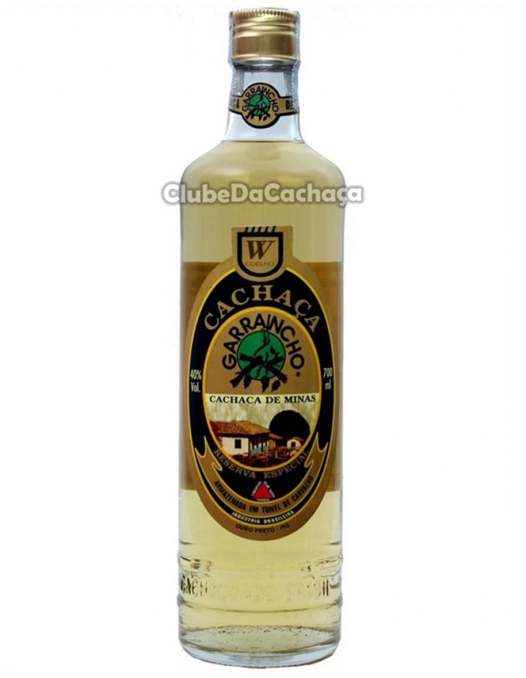 Cachaça Garrancho Ouro 700 ml
