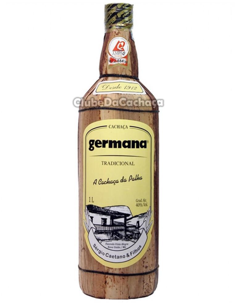 Cachaça Germana Palha 1000 ml