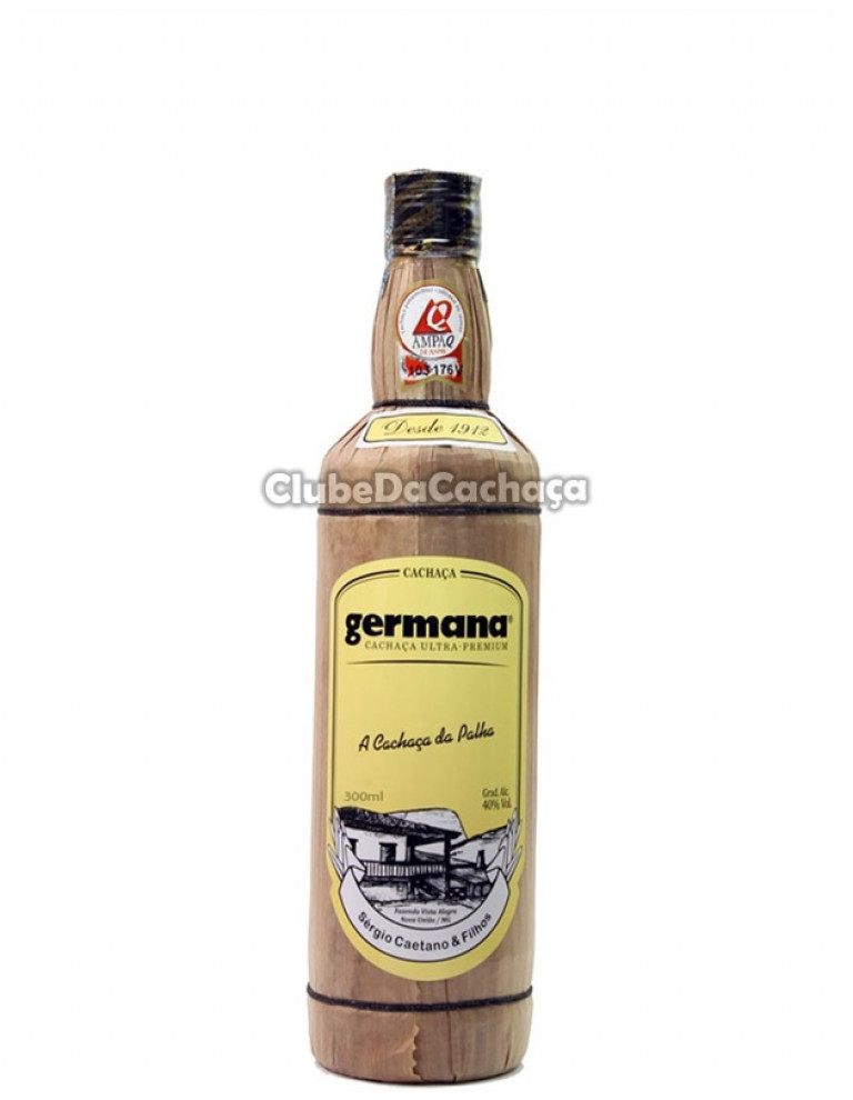 Cachaça Germana Palha 300 ml