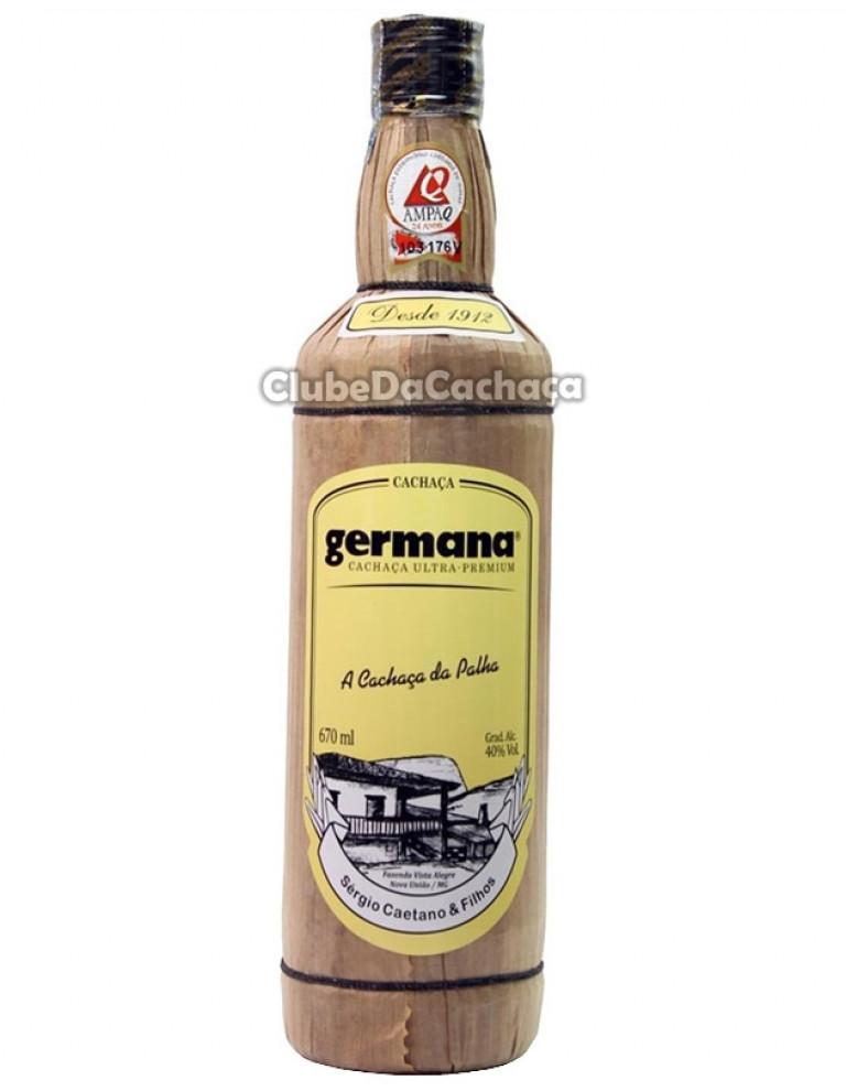 Cachaça Germana Palha 670 ml