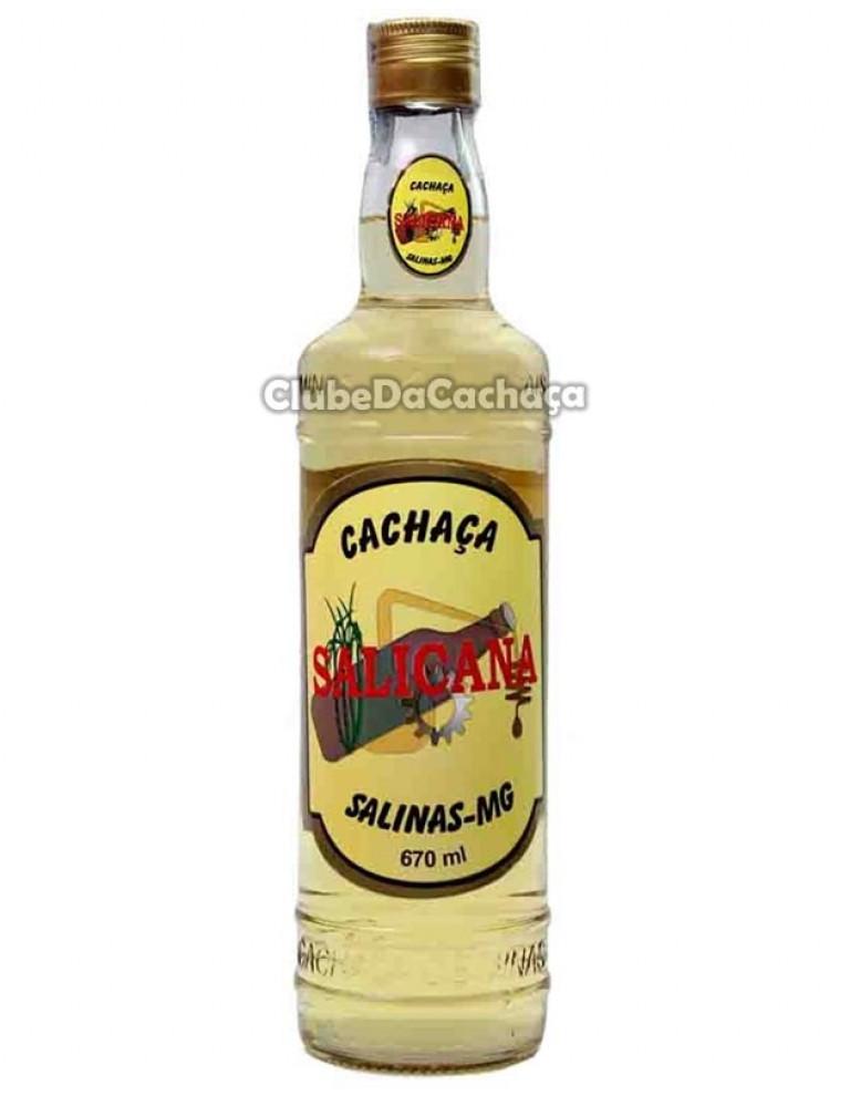 Cachaca Salicana Ouro 670 ml