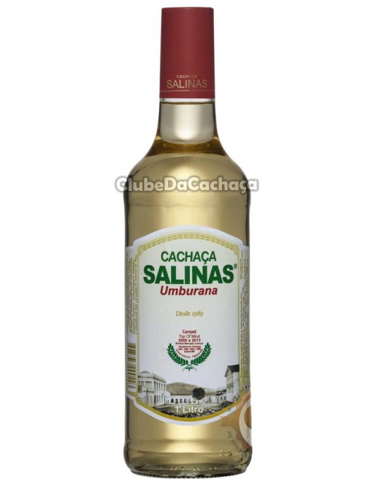 Cachaça Salinas Amburana 1000 ml