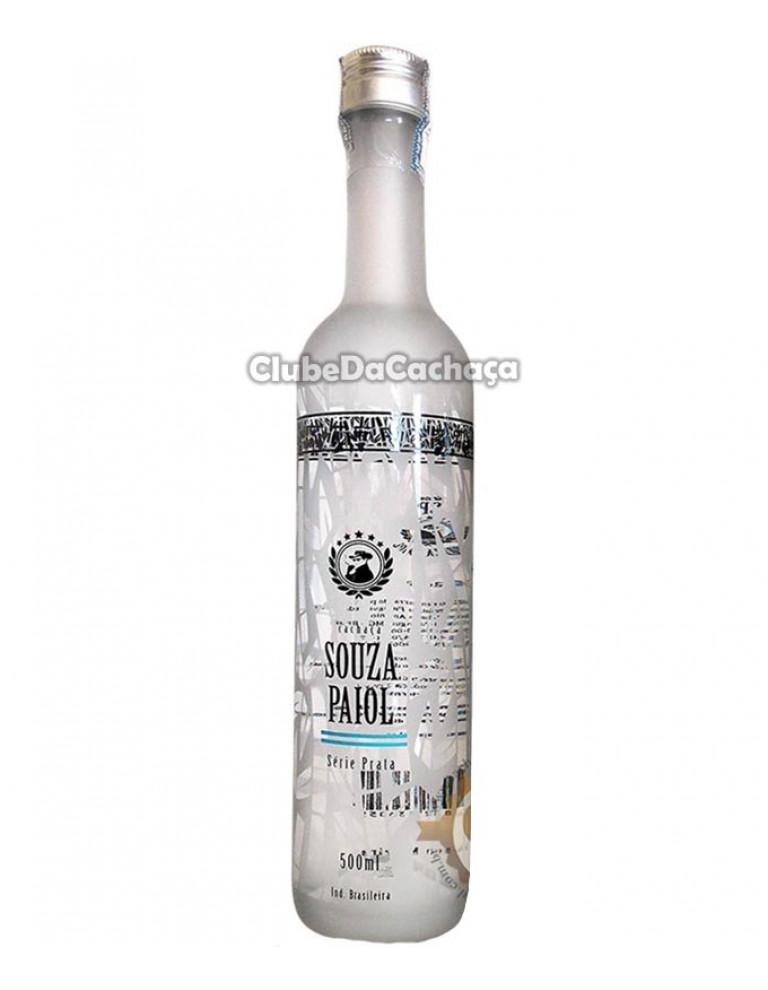 Cachaça Souza Paiol Prata 500 ml