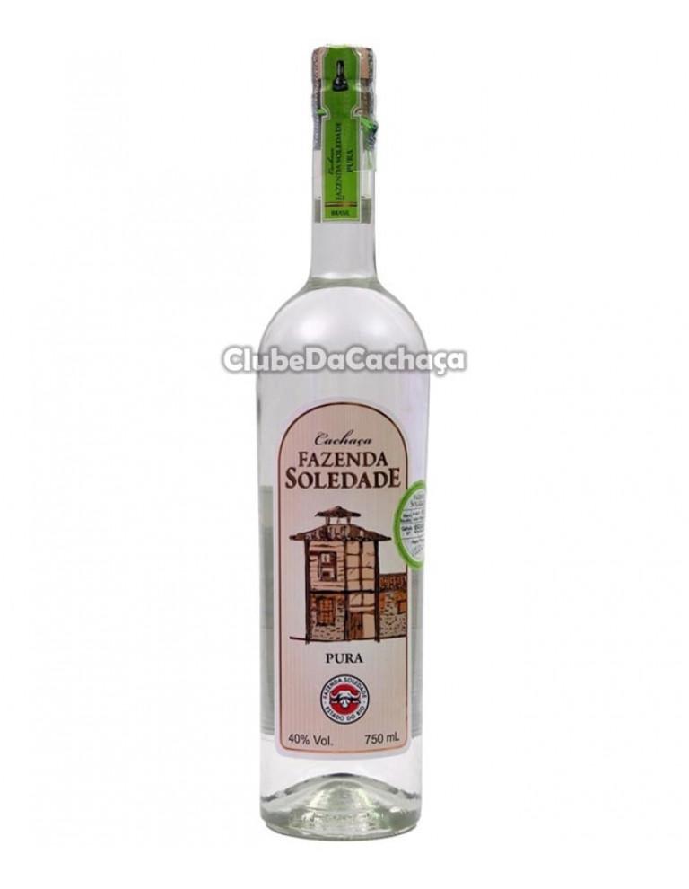 Cachaça Fazenda Soledade Prata 750 ml