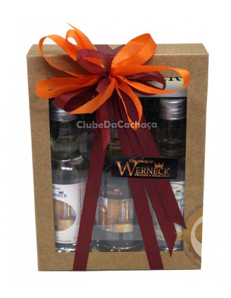 Kit de Cachaça Werneck 50 ml