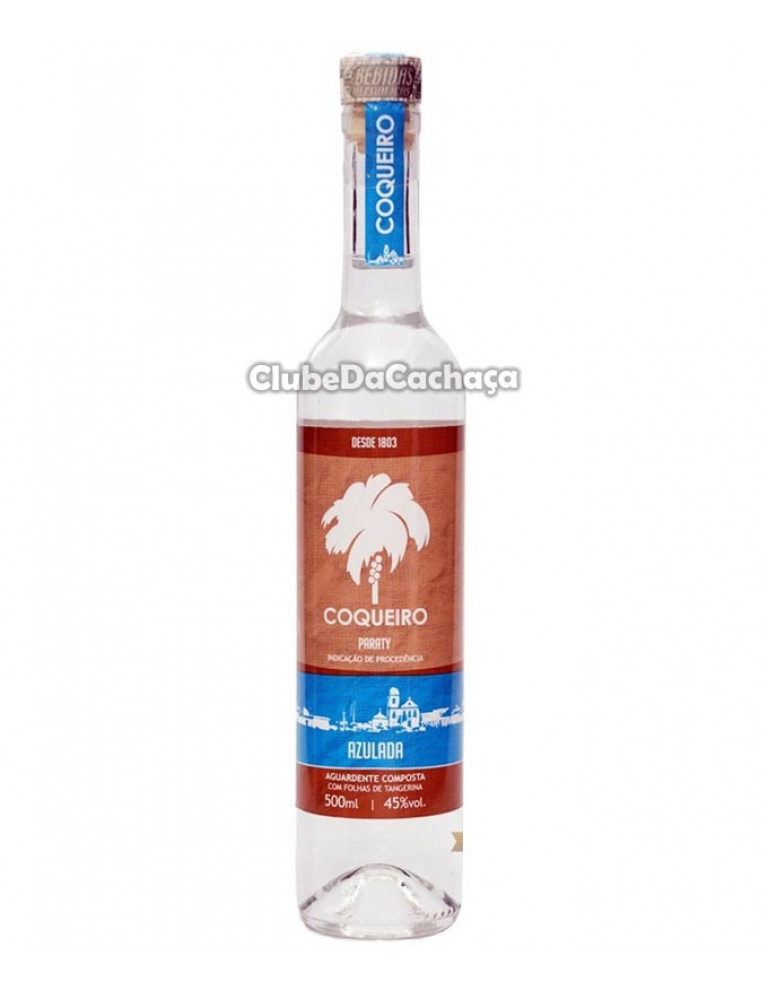 Cachaça Coqueiro Azulada 500 ml