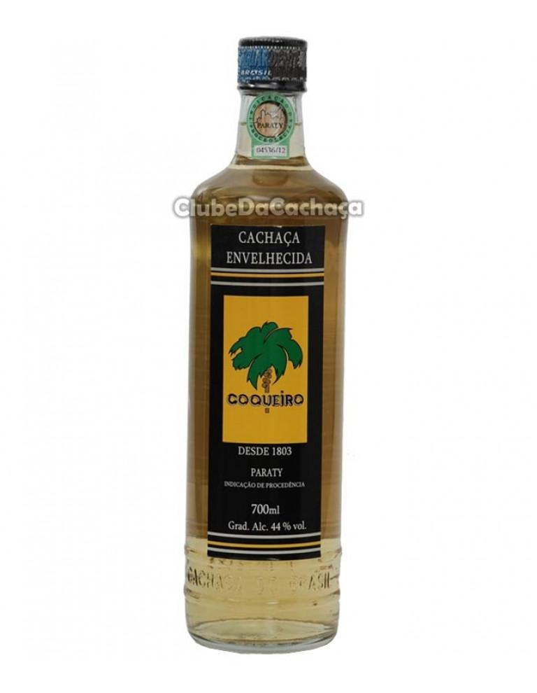 Cachaça Coqueiro Carvalho Ouro 700 ml