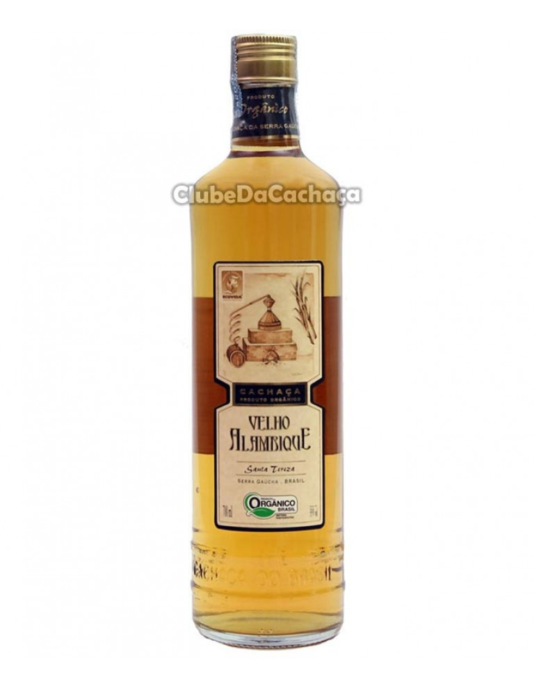 Cachaça Velho Alambique Ouro 700 ml