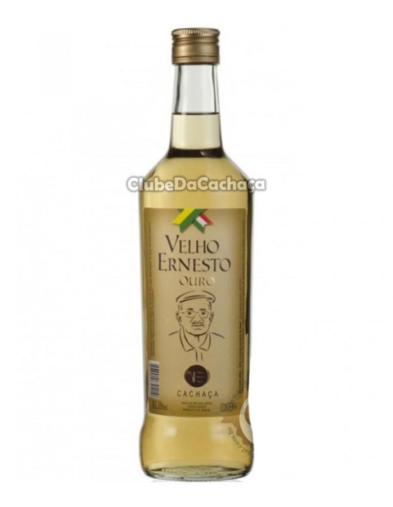 Cachaça Velho Ernesto Ouro 670 ml