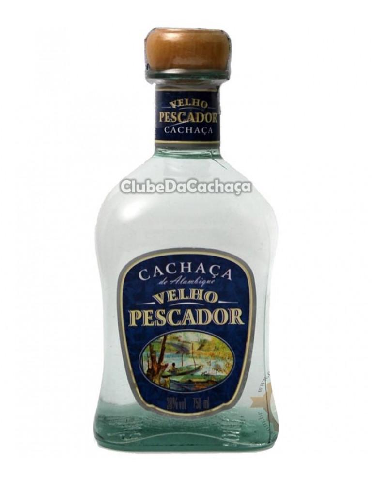 Cachaça Velho Pescador Prata 750 ml